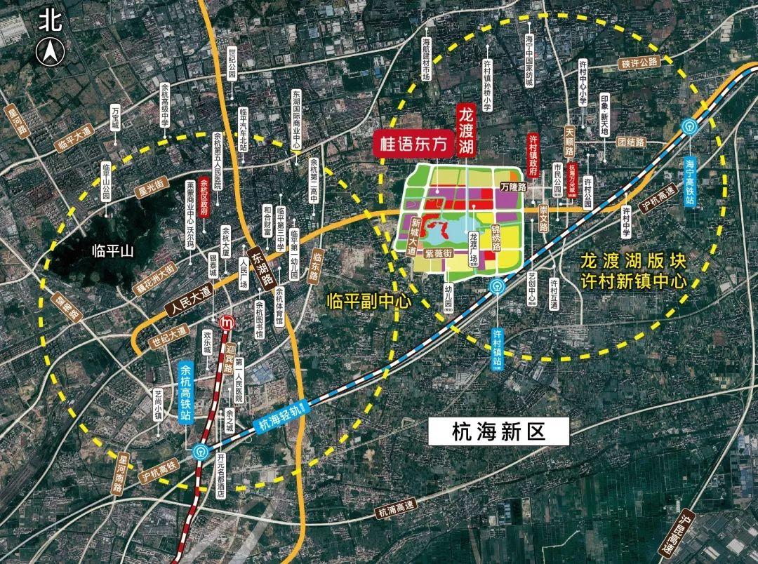 苍南渡龙社区规划图